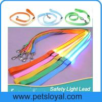 Buy cheap LED lighted dog training leashes Night Safety Training Pet Lead Leashes china factory from wholesalers