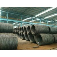 Buy cheap hot rolled low carbon steel wire rod SAE1006 5.5MM  6.5MM and above from wholesalers