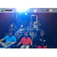 Buy cheap Mobile 5D Movie Theater With Truck And Usually Set 9 Seats Electronic Motion Chairs product