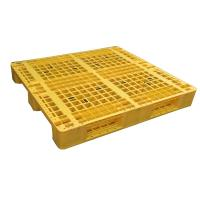 Buy cheap Euro type HDPE single faced grid 9 feet plastic pallet product