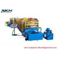China Professional Metal Roof Ridge Cap Roll Forming Machine / Step Flashing Machine on sale
