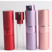 Buy cheap Cylinder Shape Travel Perfume Atomiser 5ml Aluminum SGS With Pump Sprayer from wholesalers