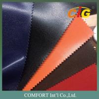 Buy cheap Shiny / Dull Surface Plain PVC Artificial Leather For Bags / Shoes / Furnitures product