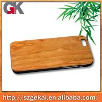 China Wood + PC Wood Case for Iphone 6 on sale
