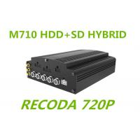 Buy cheap 720P resolution Linux HD Mobile DVR HYBRID H.264 Compression for truck Buses from wholesalers