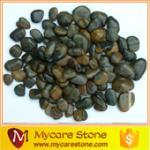 Buy cheap dark green pebble stone from wholesalers