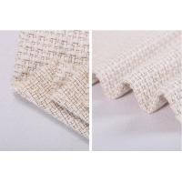 Buy cheap Creamy White Tweed Fancy Tweed Woven Wool Fabric 55% Acrylic 33% Cotton 12% Polyester from wholesalers
