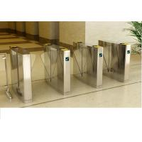 Buy cheap High Class optical flap barrier for A plus office buildings, mirror surface treatment from wholesalers