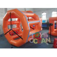 Buy cheap Backyard Party Inflatable Interactive Games Human Sized Hamster Ball Wheel Rental from wholesalers
