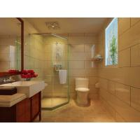 Buy cheap 3mm - 19mm Coated Bathroom Shower Glass Panel , Low Iron , Crystal Clear , 3660mmx15000mm from wholesalers
