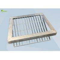 Buy cheap Low Carbon Steel Bar Grating Anti Skid Sawtooth Burglar Drain Trench Cover from wholesalers