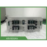 Buy cheap Topband 30.72KWh 48V 600Ah Electric Forklift Battery With CAN Communication And LCD from wholesalers
