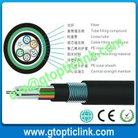 Buy cheap Multimode outdoor 6 core fiber optic cable GYTY53 from wholesalers