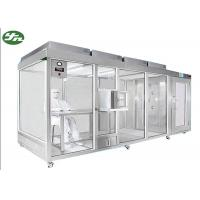 Buy cheap Ultra Clean Down Flow Clean Room Booth Class 100-100,000 For Cosmetic Industry from wholesalers