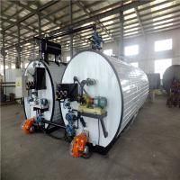 Buy cheap White Bitumen Machine Hot Exhaust Heating / Inner Thermal Oil Coils Heating from wholesalers