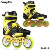 Buy cheap Factory Wholesale Men Women Roller Inline Skate Shoe Speed Skates Shoes 2 in 1 Roller Blade Yellow White Blue Color Spor from wholesalers