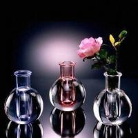Buy cheap Acrylic Bud Vases, Suitable for Promotional Gifts, Measures 10.0 x 16.0cm from wholesalers