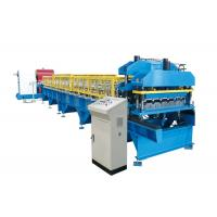 Buy cheap Metal Roof Glazed Tile Roll Forming Machine Corrugated Steel Sheet BV / SGS from wholesalers