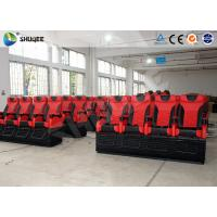 Buy cheap Large 4D Movie Theater Long Movie Pneumatic System Chair With Cup Holder product