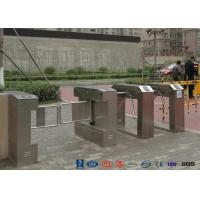 Buy cheap Bar Code Waist Height Turnstiles Stainless Steel 25~30 Persons / Min Passing Speed from wholesalers