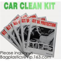 Buy cheap Disposable Plastic Car Cover with Elastic Band Medium Size, Kit De Protection, Car Clean Kit, car protection disposable from wholesalers