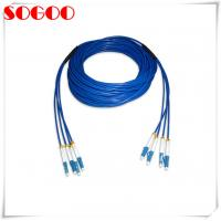 Buy cheap Indoor Armoured Patch Cord Jumper Lc/Upc - Lc/Upc Armored 2 Core Lszh from wholesalers