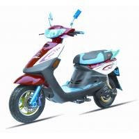 Buy cheap 14'' Vacuum Tires Steel Frame Electric Touring Motorcycle 4-6 Hours Charging Time from wholesalers