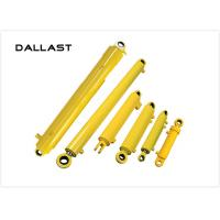 Custom Hydraulic Oil Cylinders Double Acting  for Agricultural Dump Truck