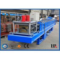 Buy cheap Metal Ridge Cap / Tile Roll Forming Machine Automatic PLC Control from wholesalers