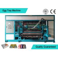 China Automated Rotary Egg Tray / Fruit Tray Moulded Machine 4000pcs/h on sale