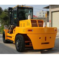 Buy cheap 15 ton  energy saving engine diesel powered forklift,big joe forklift yellow color with CE certificate from wholesalers