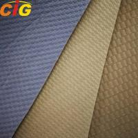 Buy cheap New Product 100% Polyester Embossed Auto Upholstery Fabric With 140-150cm Width in Different Embossed Designs product