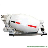 Buy cheap Compact Custom Truck Bodies 6 - 8m3 Concrete Mixer Truck Body With Italy Mixing Pump from wholesalers