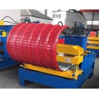 Buy cheap PLC Control Roof Pipe Bending Machine Hydraulic With Adjustable Speed from wholesalers