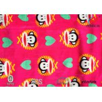 Buy cheap Azo free custom printed super soft spandex Velvet fabric for baby from wholesalers