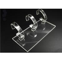 Buy cheap CE Acrylic Stands Display for bracelet Watches cylindrical - Clear transparent from wholesalers