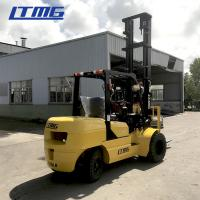 Buy cheap 4000 Kg Diesel Forklift Truck , FD40 Diesel Powered Forklift With CE / ISO Certification from wholesalers
