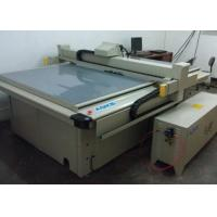 Buy cheap PP PVC Corrugated Coroplast Sample Cutting Machine Cutter Table from wholesalers