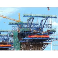 Buy cheap cantilever form traveler for continous prestressed cast-in-place concrete bridge construction formwork from wholesalers