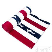 Buy cheap Striped Extra Large Beach Towels Soft / Plush 100 % Cotton Material Light  Weight from wholesalers