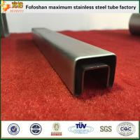 Buy cheap Customized Special Model Stainless Steel Square Slotted Tubing product