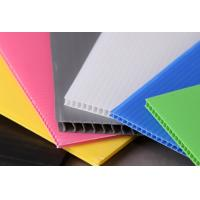 Buy cheap Light Weight Rigid Strong Polypropylene Hollow Sheet For Building Construction from wholesalers