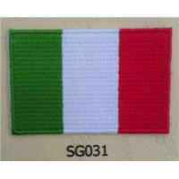 Buy cheap Italy Flag Iron On Sew On Cloth Patch from wholesalers