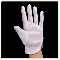 Buy cheap Anti-static Polyester Gloves PVC Dotted Gloves from wholesalers