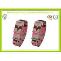 Buy cheap Camouflage Color Nylon Watch Strap 18mm No-Fade For Male / Female from wholesalers