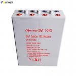 Buy cheap Deep Cycle Tubular Gel Solar Batteries 2volt 3000ah Opzv Battery from wholesalers