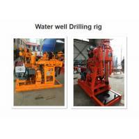 Professional Soil Drilling Rigs , GK200 Mobile Borehole Drilling Machine
