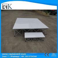 Buy cheap RK 8ft*8ft Modern style  portable folding stage stairs  white stage portable from wholesalers
