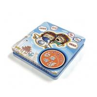 Buy cheap rectangular CD tin case with hinged lid from wholesalers