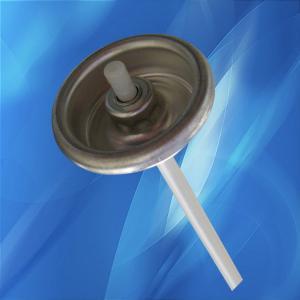 China Car spray paint cans / hair spray cans Aerosol valve , Tail orifice ф0.080 on sale